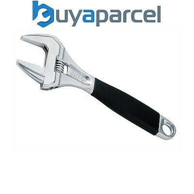 """Bahco 9031C 9031 Adjustable Wrench 200mm 8"""" Chrome Extra Wide Jaw XMS16WRENCH"""