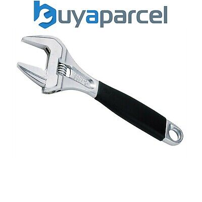 "Bahco 9031C 9031 Adjustable Wrench 200mm 8"" Chrome Extra Wide Jaw XMS16WRENCH"