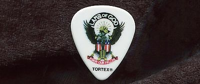 LAMB OF GOD 2013 Resolution Tour Guitar Pick!! WILLIE ADLER custom concert stage