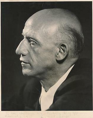 Greek Conductor & Pianist Dimitri Mitropoulos- Vintage Signed Photograph