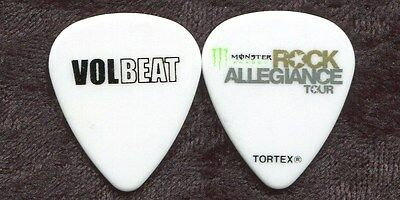 VOLBEAT 2013 Rock Allegiance Tour Guitar Pick!!! custom concert stage Pick