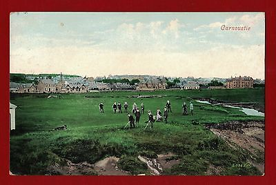 1912 Great Britain Golf postcard used