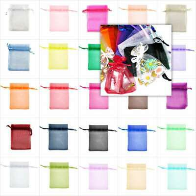 20pcs Premium Organza Gift Bags Jewellery Candy Packing Pouches Wedding Favor