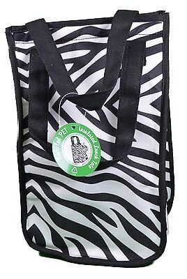 Zebra Design Fashion Insulated Lunch Tote Cooler Bag Recycled Environment Friend