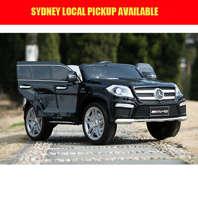 Licensed Mercedes Benz GL63 Kids Ride on Car With Remote controller black