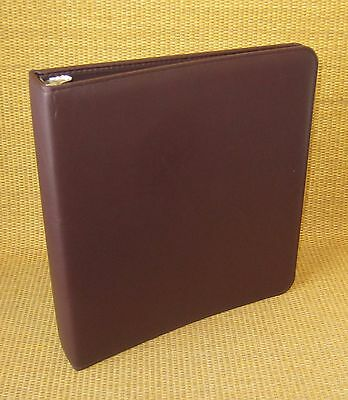 """Monarch 1.25"""" Rings   Burgundy DURABLE FRANKLIN COVEY Open Planner/Binder"""