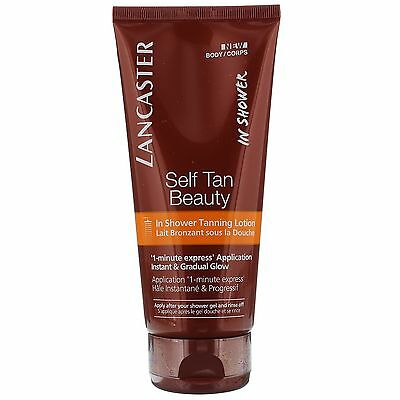 Lancaster Self Tan In Shower Tanning Lotion 200ml for her BRAND NEW