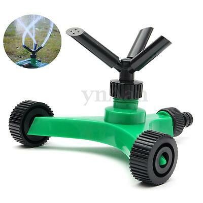 3 Arm Garden Watering Sprinkler Plant Lawn Farmland 360° Rotate Spray Irrigation