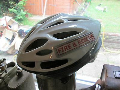 Fire And Rescue  Cycle Helmet
