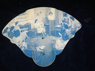 vintage Stanhome Stanley Home Products 1951 home hostess party fan