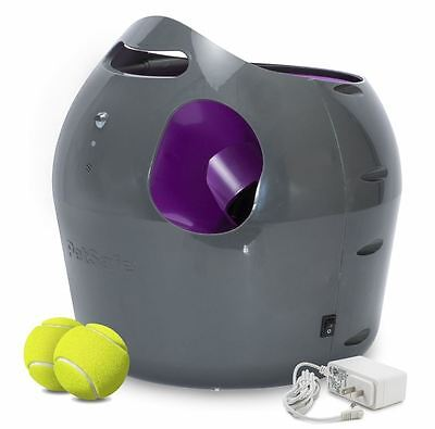 PetSafe Busy Buddy Automatic Ball Launcher Dog Toy Treat Fun Game