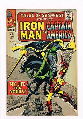 Tales of Suspense # 73  My Life for Yours !  grade 5.5 hot book !!