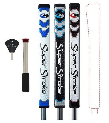 SuperStroke Pistol 1.0 Putter Grip with CounterCore Weight