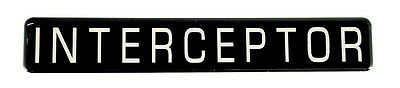 Interceptor    Emblem   Super Sized Satin