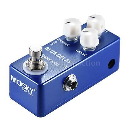 MOSKY Mini Analog Delay Guitar Effect Pedal True Bypass A4W2