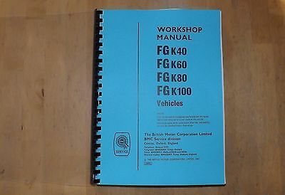 BMC.FG K40.FG K60 FG K80 FG K100.Workshop manual.