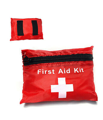 38 Piece 1St First Aid Kit Emergency Medical Pouch Home Car Compact Bag