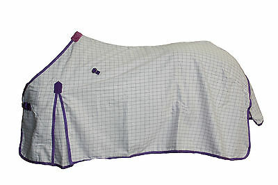 Axiom Polycotton Lavender Ripstop Unlined Horse Rug 6'3