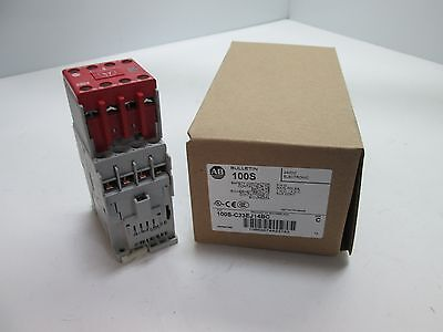 New In Box Allen Bradley 100S-C23EJ14BC Contactor, Main Poles: 3x N/O