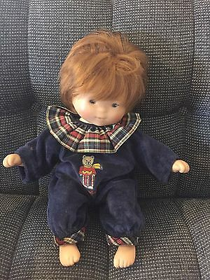 "1993 CR Club De COROLLE signed Bebe 12"" Baby DOLL Original Clothes GUC"