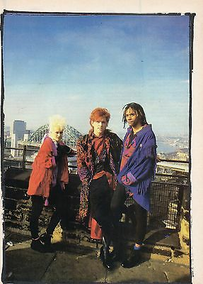 The Thompson Twins                     Mini Poster / Picture  ( MD62)