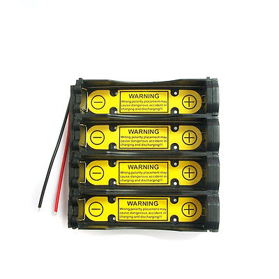 1 x 1S4P 3.7V 18650 Battery Holder Wire w/ Li-ion PCM Protection Circuit Module