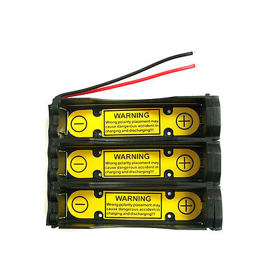 1 x 1S3P 3.7V 18650 Battery Holder Wire w/ Li-ion PCM Protection Circuit Module