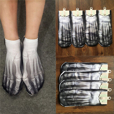 1 Pair Women Men Casual Low Cut Ankle Socks 3D Printed Fashion Socks Lovely Gift