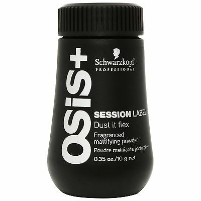 NEW Schwarzkopf OSiS+ Session Label Dust It Flex 10ml FREE P&P