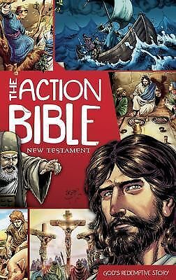 Action Bible Ser.: The Action Bible New Testament : God's Redemptive Story...
