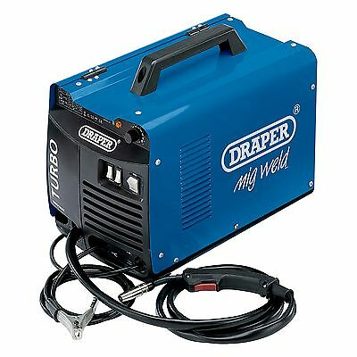 Draper 90A 230V Gas/Gasless Turbo MIG Welder/Welding Machine - 11972