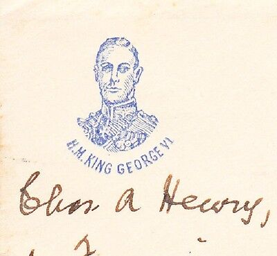 Scarce Illustrated George VI Coronation Cover London W.C. to USA Cover 7y