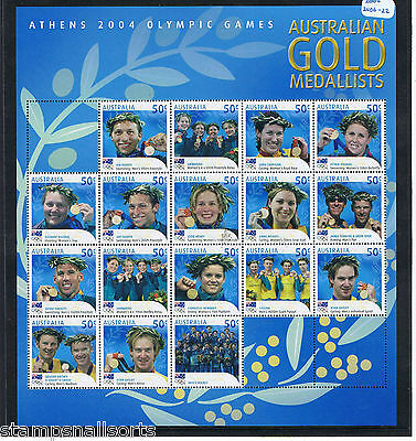 AUSTRALIA 2004 MNH Sets. Choose your stamps