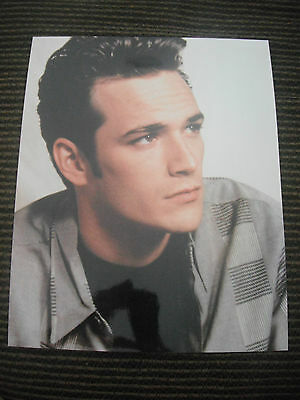 Luke Perry Beverly Hills 90210 Color 8x10 Photo Promo Picture Hollywood