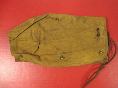 WWII Era Canadian Canvas Action Cover for SMLE Enfield Dated 1942 - Original #2