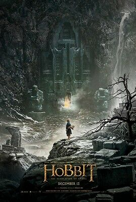 Hobbit 2 Desolation of Smaug - original DS movie poster - D/S 27x40 Adv