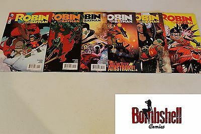Robin Son of Batman 1 2 3 4 5 6 Complete Comic Lot Run Set 1st Print Collection