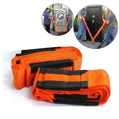 One Pair Smart Home Furniture Cargo Moving Strap DIY Make Lifting Much Easier MT