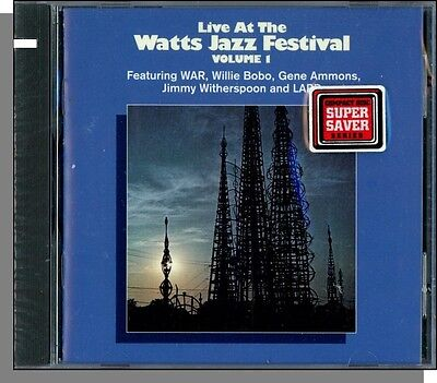 Live At The Watts Jazz Festival, Vol. 1 (1973) - New 1993 Various Artists CD!
