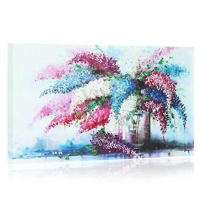 Vase Flower Modern Unframed Canvas Print Wall Art Picture Painting Home Decor