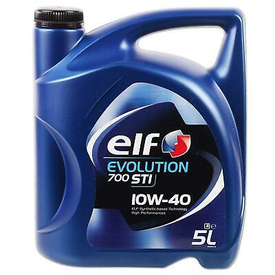 [€4,38/l] 5L Elf Evolution 10W40 700 Sti Motoröl Renault Vw Mercedes A3/b4