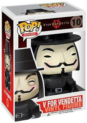 Funko Movies - Figurine Head V for Vendetta Pop no.10