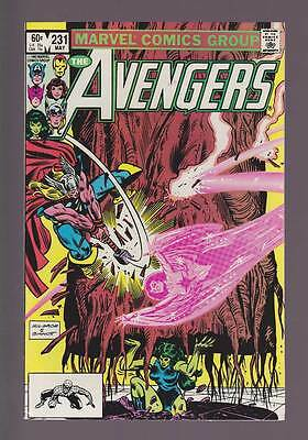 Avengers # 231  Up From the Depths !  grade 8.5 scarce book !
