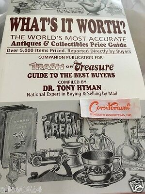 What's It Worth? Antiques & Collectibles Price Guide Trash or Treasure NEW