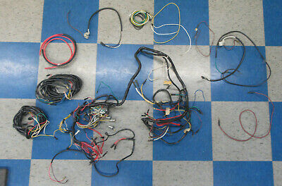 72 73 vw wiring harness karmann ghia beetle k70 1972 1973 super volks wagon