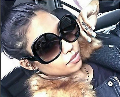 Oversized Sunglasses Women Fashion Huge Big Vintage Designer Style