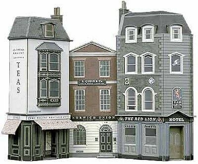 Superquick C1 Low Relief Hotel Offices & Resturant Oo Card Kit Suit Hornby Peco