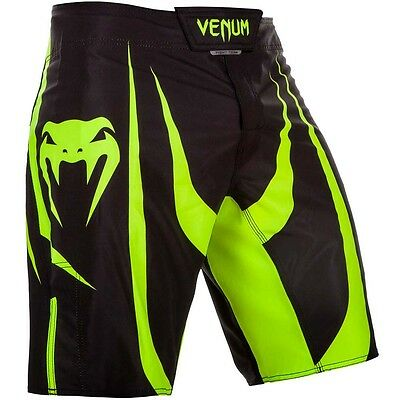VENUM MMA Fight Shorts, Predator, schwarz-grün, Short, Freefight Hosen Kickboxen