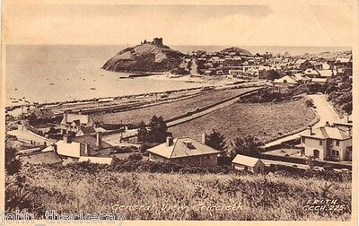 Wales Postcard - Criccieth General View RP  Postcard Ref Friths CCCH225