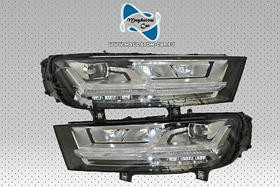 2x Neu Original VOLL LED Scheinwerfer Headlights USA Audi Q7 4M 2015- 4M0941033B